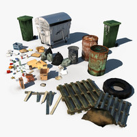 Urban Debris Pack