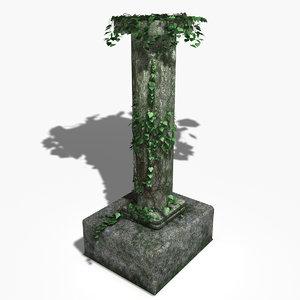 max realistic pillar