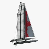 3d model america s catamaran ac45