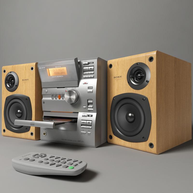 3d model sony