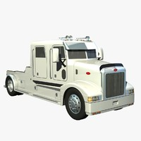385 truck crewcab 3d model