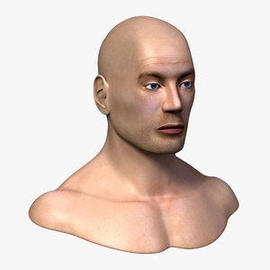 lwo male head