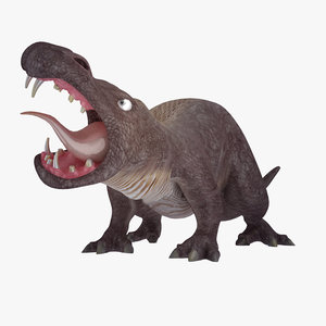 3ds max rigged tyrannosaurus rex