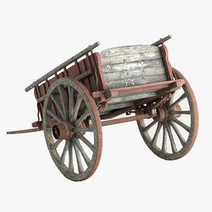 3d max old carriage