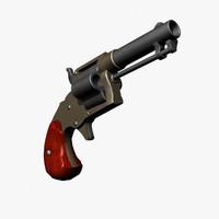 colt house pistol 3d max