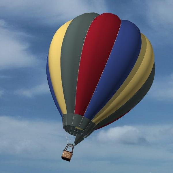 balloon 3d 3ds