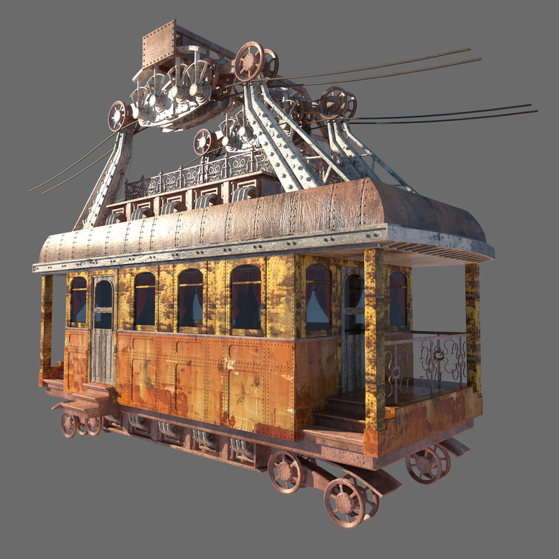 3ds max funicular