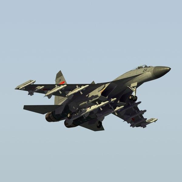 Jian J11 FlankerB LW