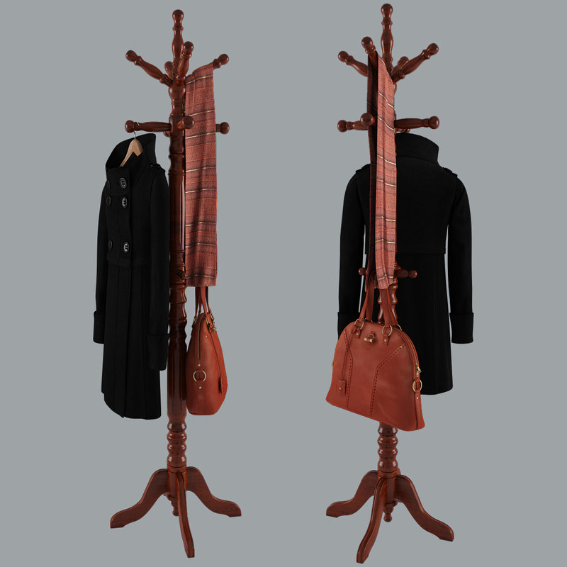 rack coat bag scarf max