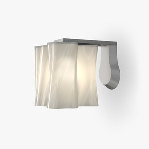 3d sconce contemporary model