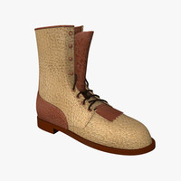 free obj mode leather boots
