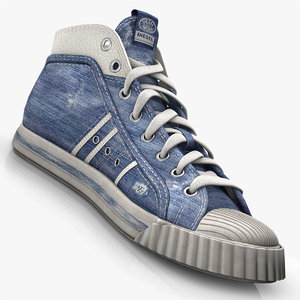 shoe using c4d