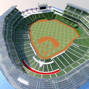 max baseball stadium arena
