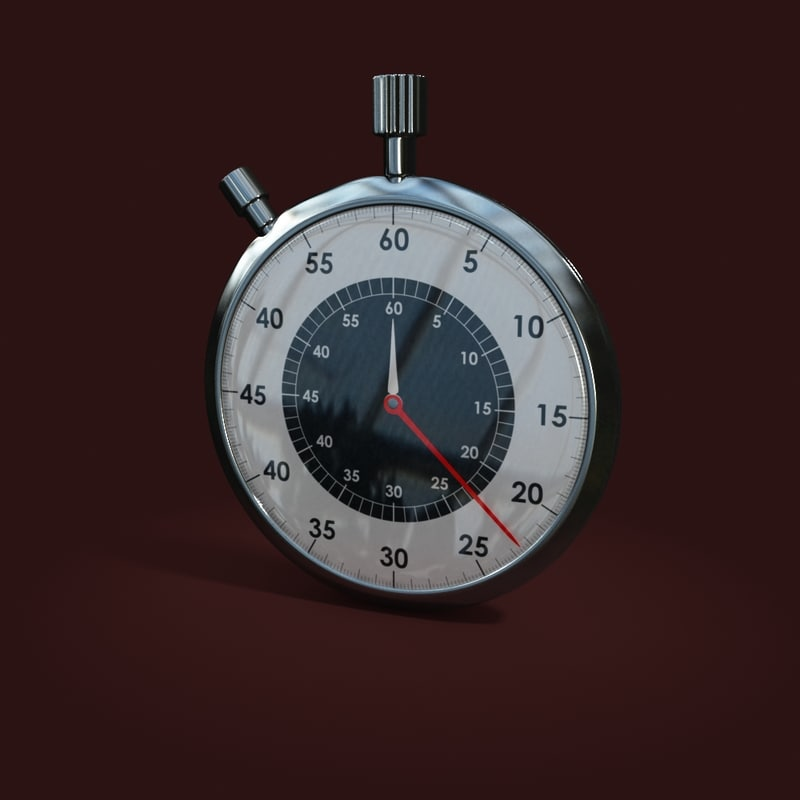 3d max stopwatch pointers