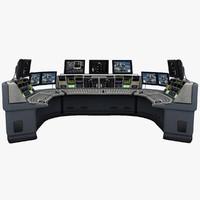 control room 3d max