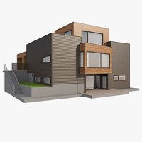 3d realistic house nova nb model