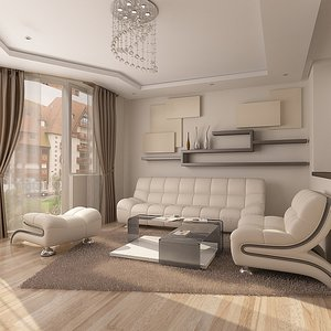 furniture 2 3d model