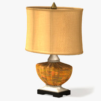 3d model classic table lamp