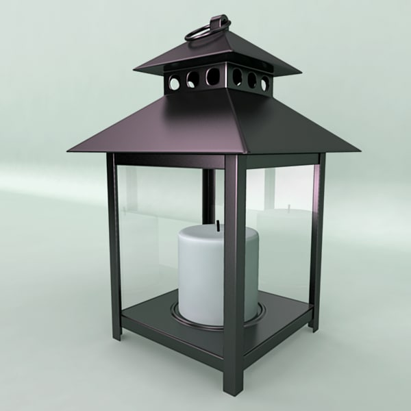 decorative lamp lighting 3d obj