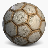football 3 old soccerball 3d max