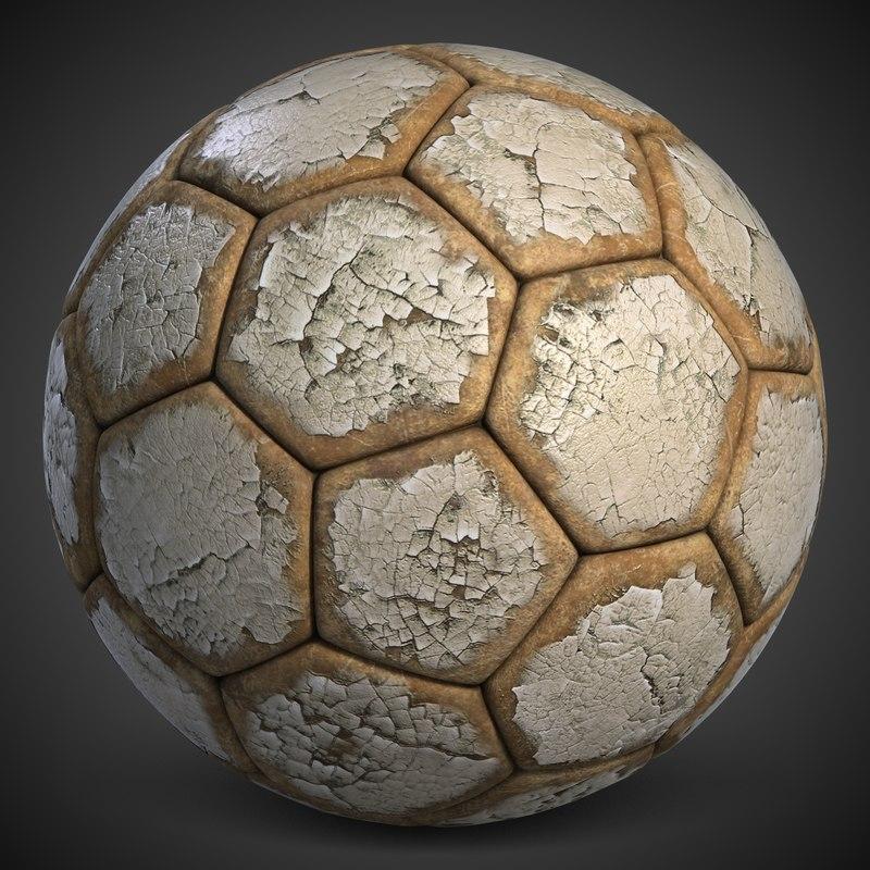 football 3 old soccerball 3d max
