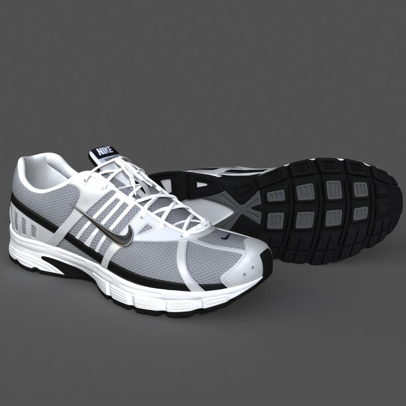 realistic sport shoes max