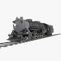 4-8-2 Frisco Mountain Type Steam Locomotive