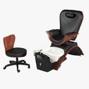 Maestro Pedicure Spa Chair Set