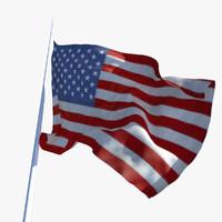 maya animation flag