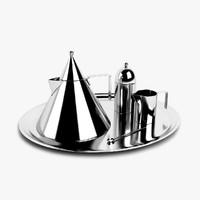 3d model kettle aldo rossi