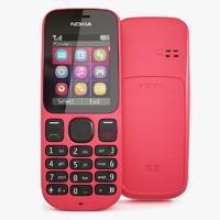 photorealistic nokia 100 cellphone 3d max