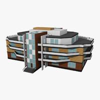 living house 3d model