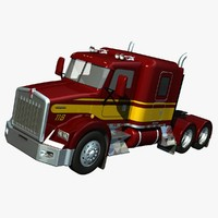 Kenworth T800 Low Roof