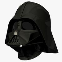 darth vaders mask helmet 3d max