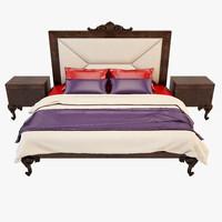 3d model bed modenese