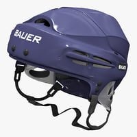 3d hockey helmet bauer 5100 model