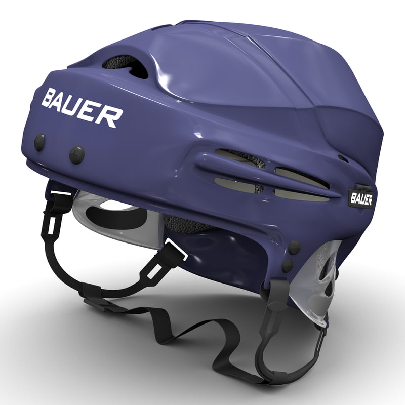 3d hockey helmet bauer 5100 model