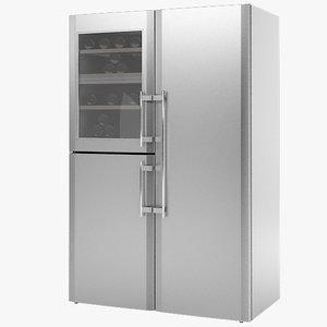 liebherr refrigerator 3ds