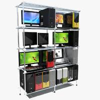 Personal Computer Shelf