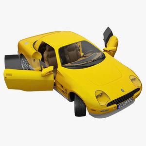 max sports car tomaso bigua