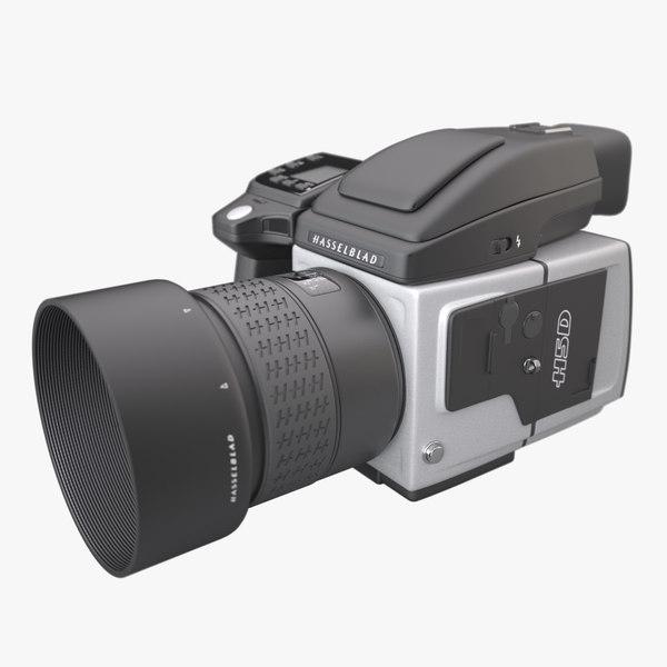 3d model photoreal camera hasselblad h5d
