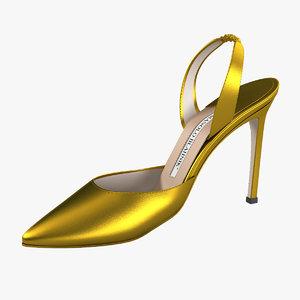 max manolo blahnik lady shoes