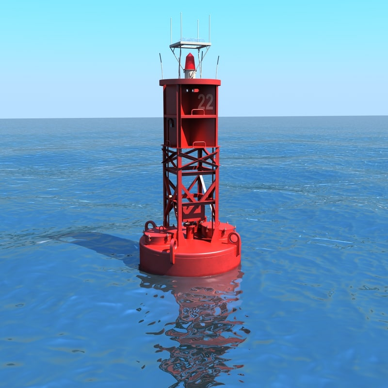 Navigational Buoy 3d Model