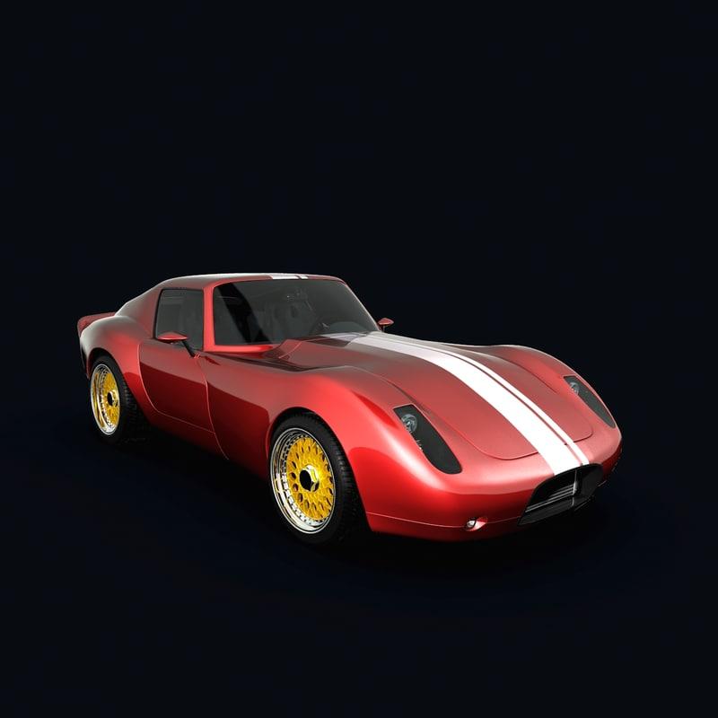 concept car 250gts 3d 3ds