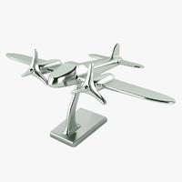 plane decor 3d model