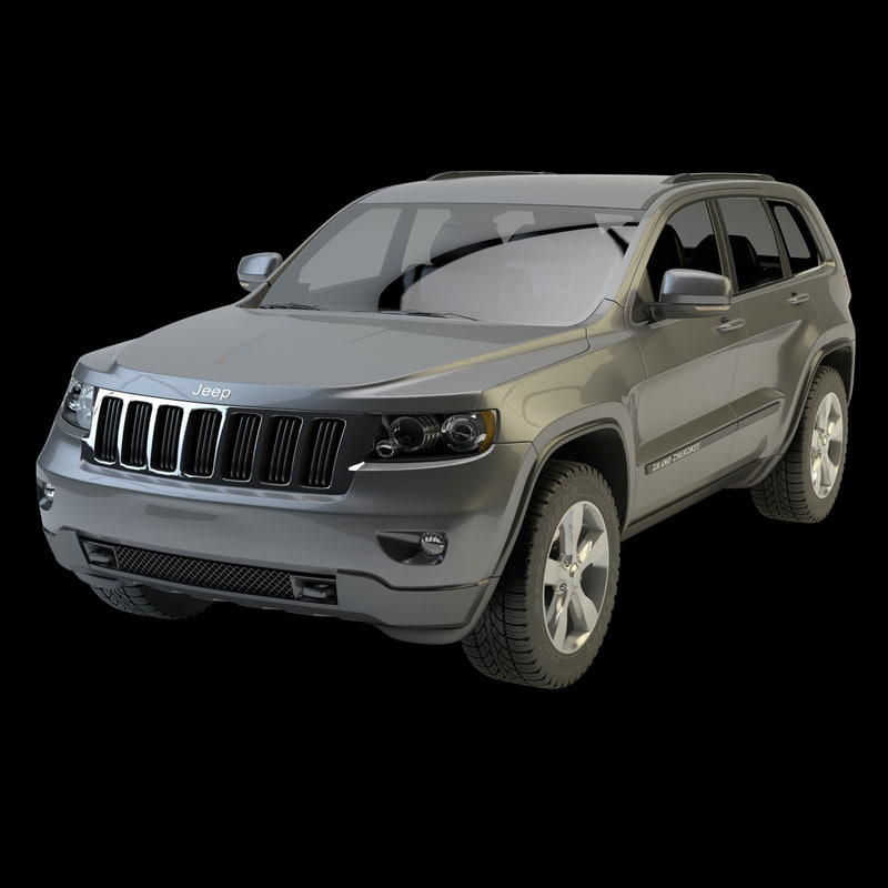 jeep grand cherokee obj
