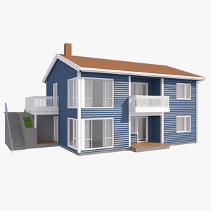 realistic house ly nb 3d x