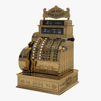 vintage national cash register max