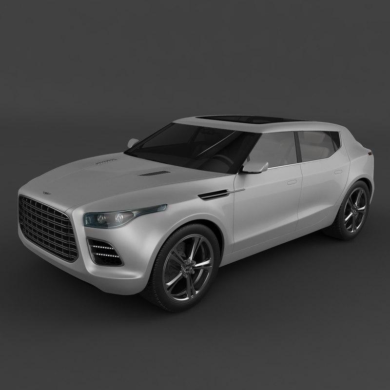 Aston Martin Lagonda: Aston Martin Lagonda Crossover 3ds