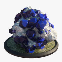 natural crystal 3d max